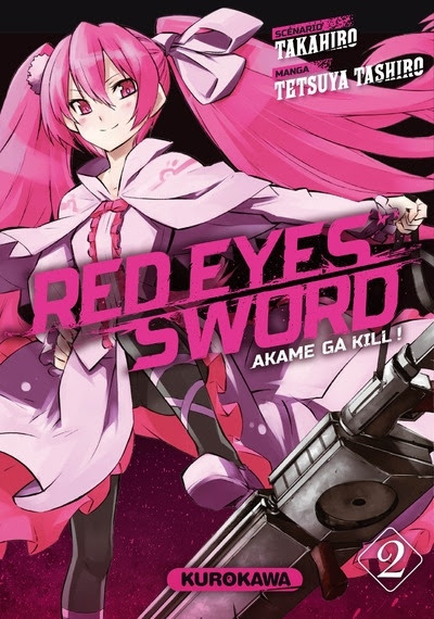 Couverture Red eyes sword, tome 2