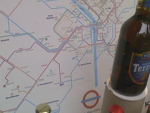 York pub map
