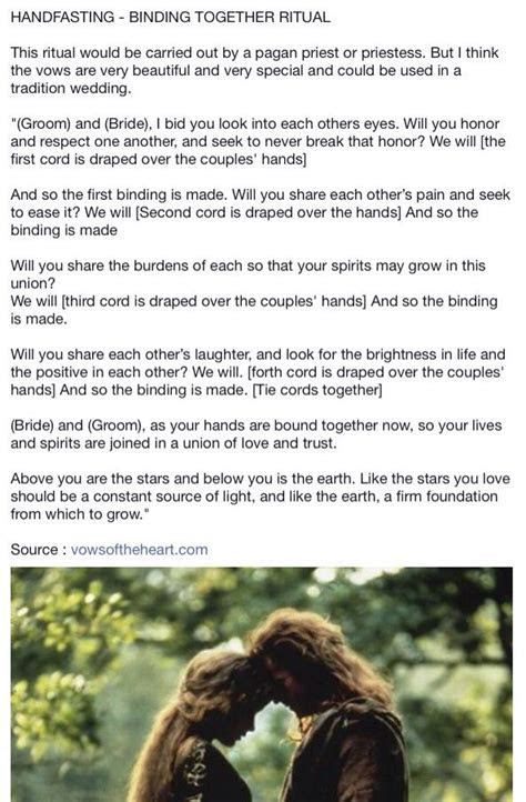 113 best Hand fasting images on Pinterest   Wiccan wedding
