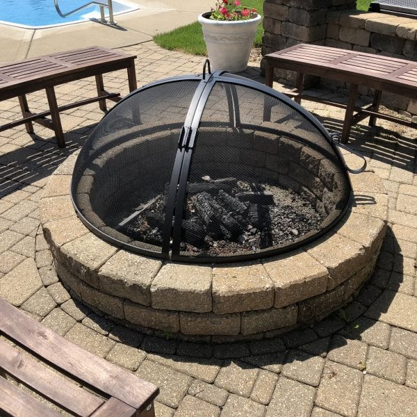 22 Inch Fire Pit Replacement Screens Round - Top 24 inch Fire Pit Replacement Bowl Choices - Delta Fire ...