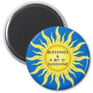 Sunshine Blessings Magnet magnet