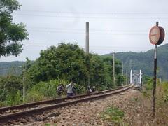 泰安站北,大安溪鐵橋