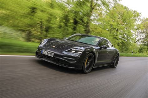porsche taycan turbo review  redefines speed