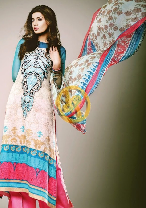 Dawood-Textile-Girls-Women-Printed-Lawn-Prints-Fashion-Suits-Kuki-Concepts-Fall-Winter-Collection 2013-14-1