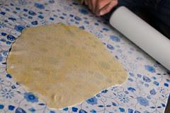 Esimene pastategu / First time making pasta