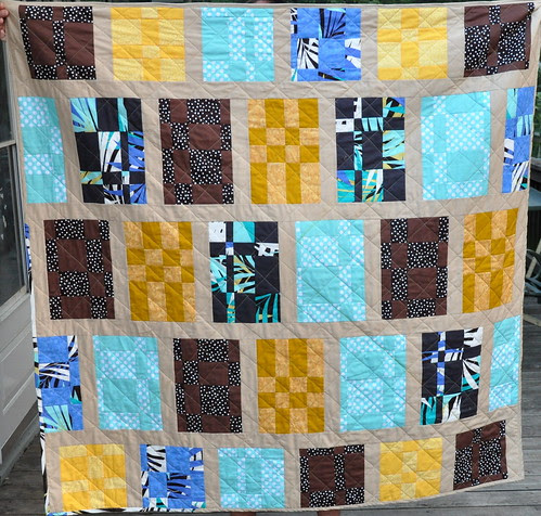 Finished!  H2H Charity Quilt done!