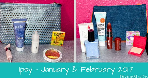 Ipsy Bag - January and February 2017
