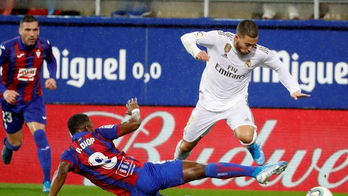 VIDEO: Eibar 0:4 Real Madrid / La Liga