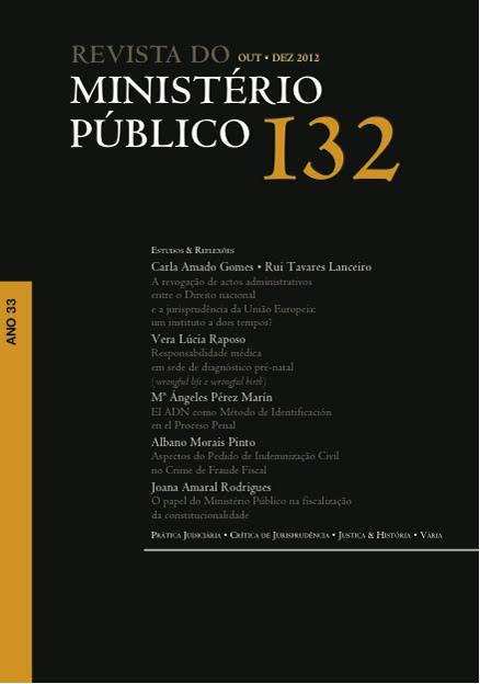 Revista do Ministério Público nº 132