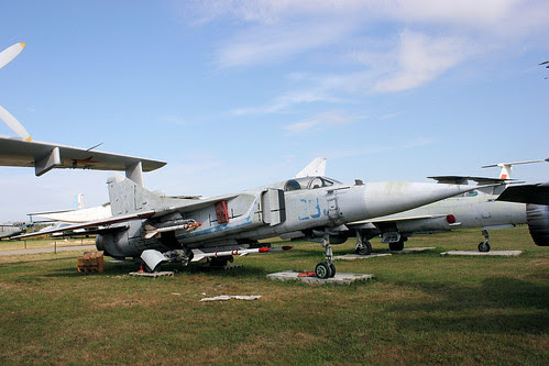 Mikoyan-Gurevich MiG-23S 231 blue