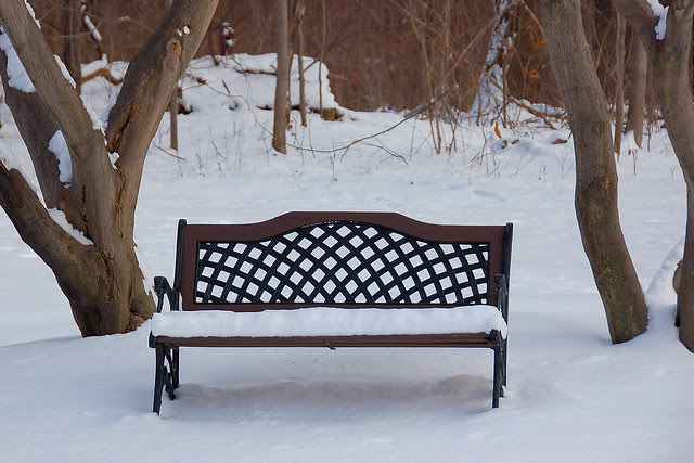 have a seat, rest awhile