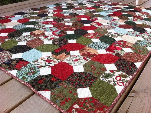 Coming Home to the Woods of Switzerland for Christmas Quilt!
