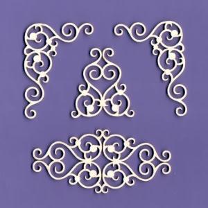 108 Tekturka - Ornamenty zestaw 7 - G6