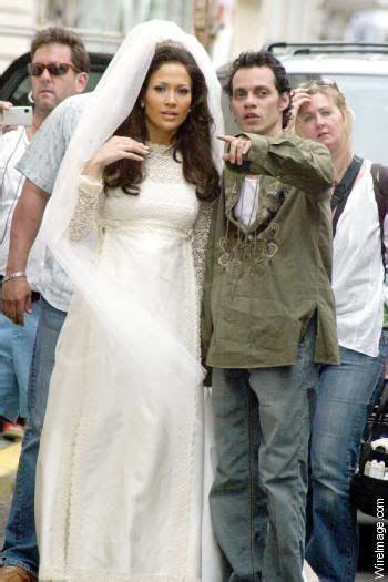 Jennifer Lopez Wedding Dress   Jennifer Lopez   NYPOST.com