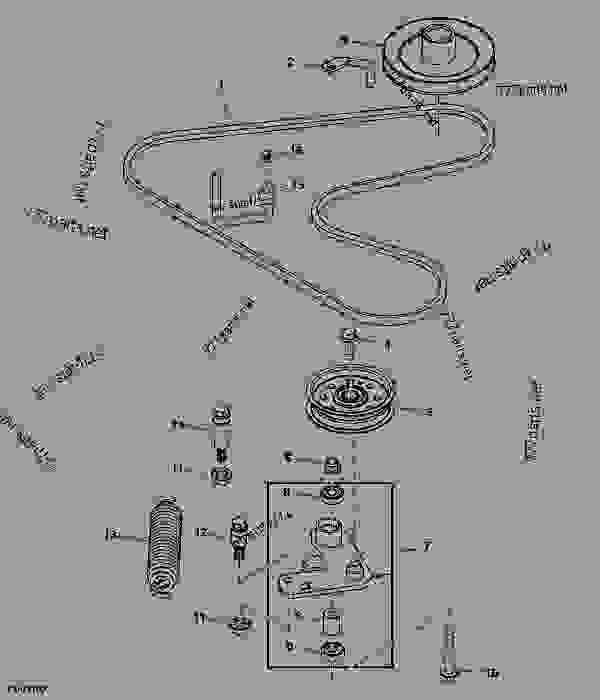 33 John Deere La145 Parts Diagram