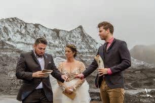 Iceland Glacier Wedding   Devin   Crystal's Adventure