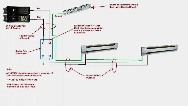 Wiring Diagram Pdf  110 Volt Electric Baseboard Wiring Diagram