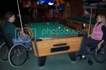 Wheelchair Billiards Graphic