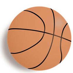バスケットボールイラストレーター無料素材h12