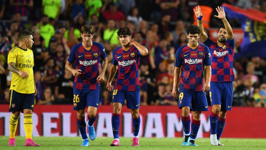 Arsenal 2 1 Barcelona Player Ratings