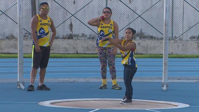 Paratletismo; Amapá; Esporte (Foto: Reprodução/Rede Amazônica no Amapá)