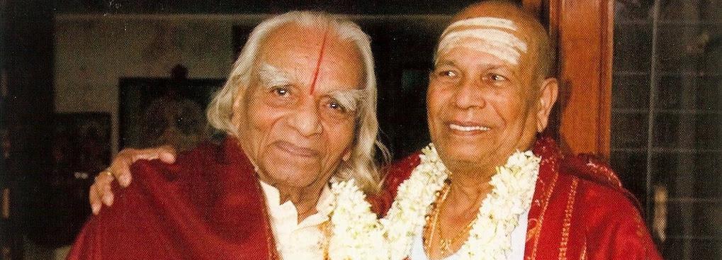 B K S Iyengar y Sri K Pattabhi Jois