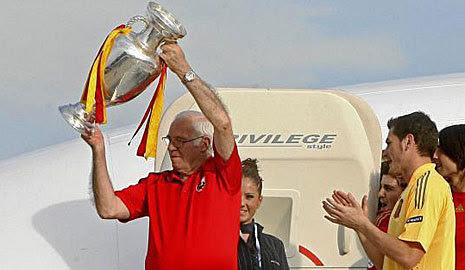 Con la Eurocopa 2008.