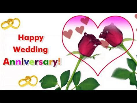 Happy Wedding Anniversary Greetings! Free To a Couple