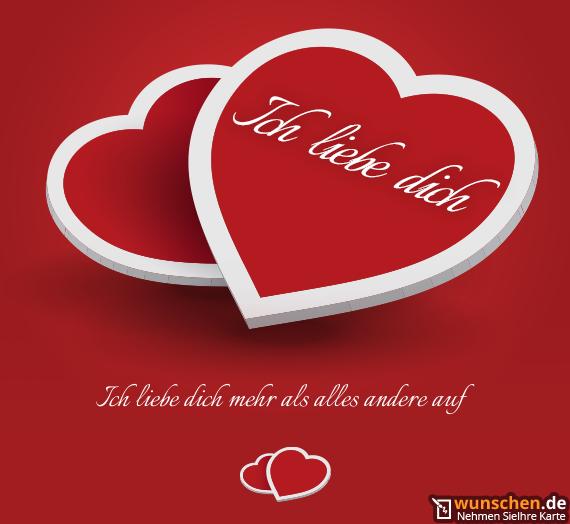 Liebe Dich Mehr : Ich Liebe Dich Mehr Als Alles Andere