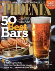 Phoenix Magazine March 2010 Cover