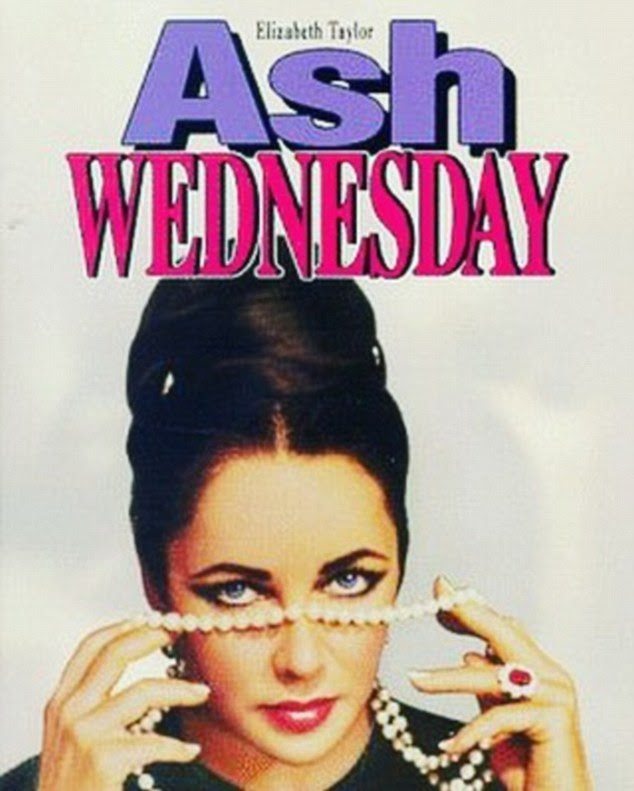 Cryptic message? Ash Wednesday, starring Elizabeth Taylor, focuses on a middle-aged woman who undergoes extensive plastic surgery in a bid to keep her husband interested