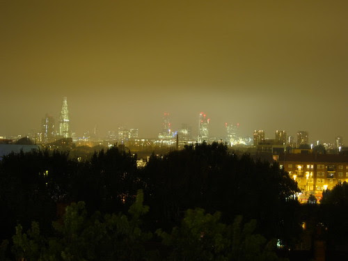 The view at night