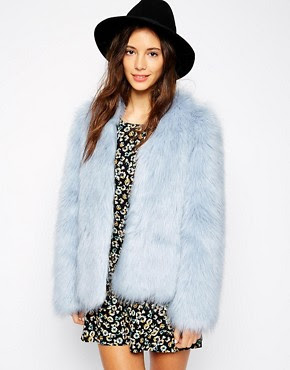 Pull&Bear Faux Fur Jacket