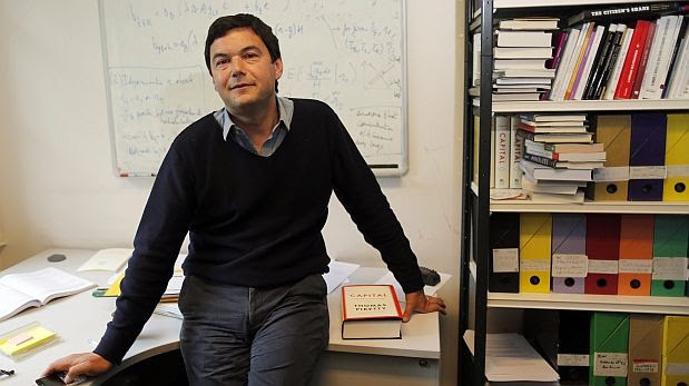 Financial Times pone en entredicho cifras de Thomas Piketty