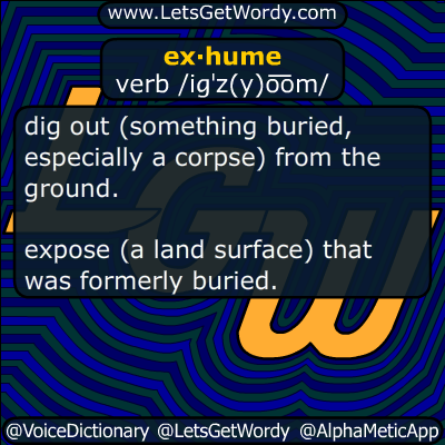 exhume 07/22/2017 GFX Definition
