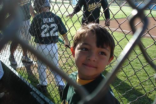 CJ's 2008 Baseball Team