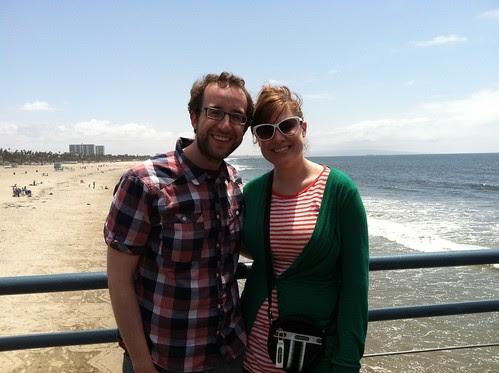 cuuute at Santa Monica pier
