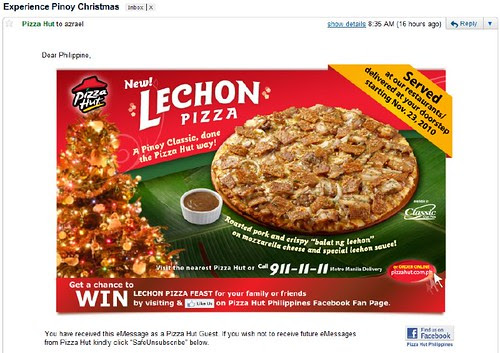 pizza lechon