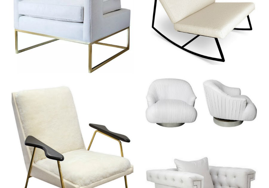 17 Accent Chairs in Winter White