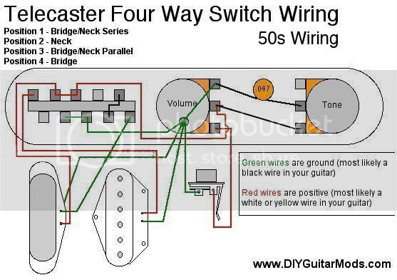 Tele 4way 50s Wiring The Gear Page