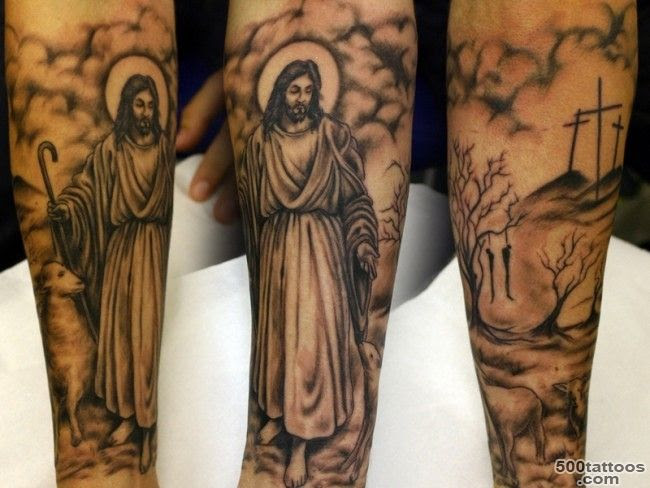Jesus Tattoo Photo Num 3061