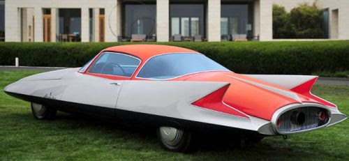 Ghia Gilda streamline coupe