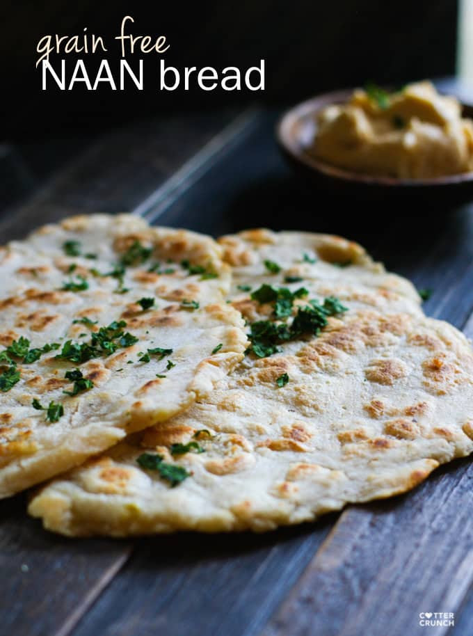 Grain Free Naan Bread with Cassava Flour - A Rockstar Root ...