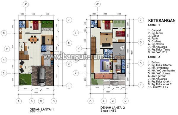Lebar Tanah 8 Meter Archives - STUDIO ARSITEK Desain Rumah