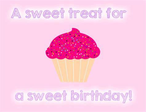 A Sweet Treat  Free Happy Birthday eCards, Greeting