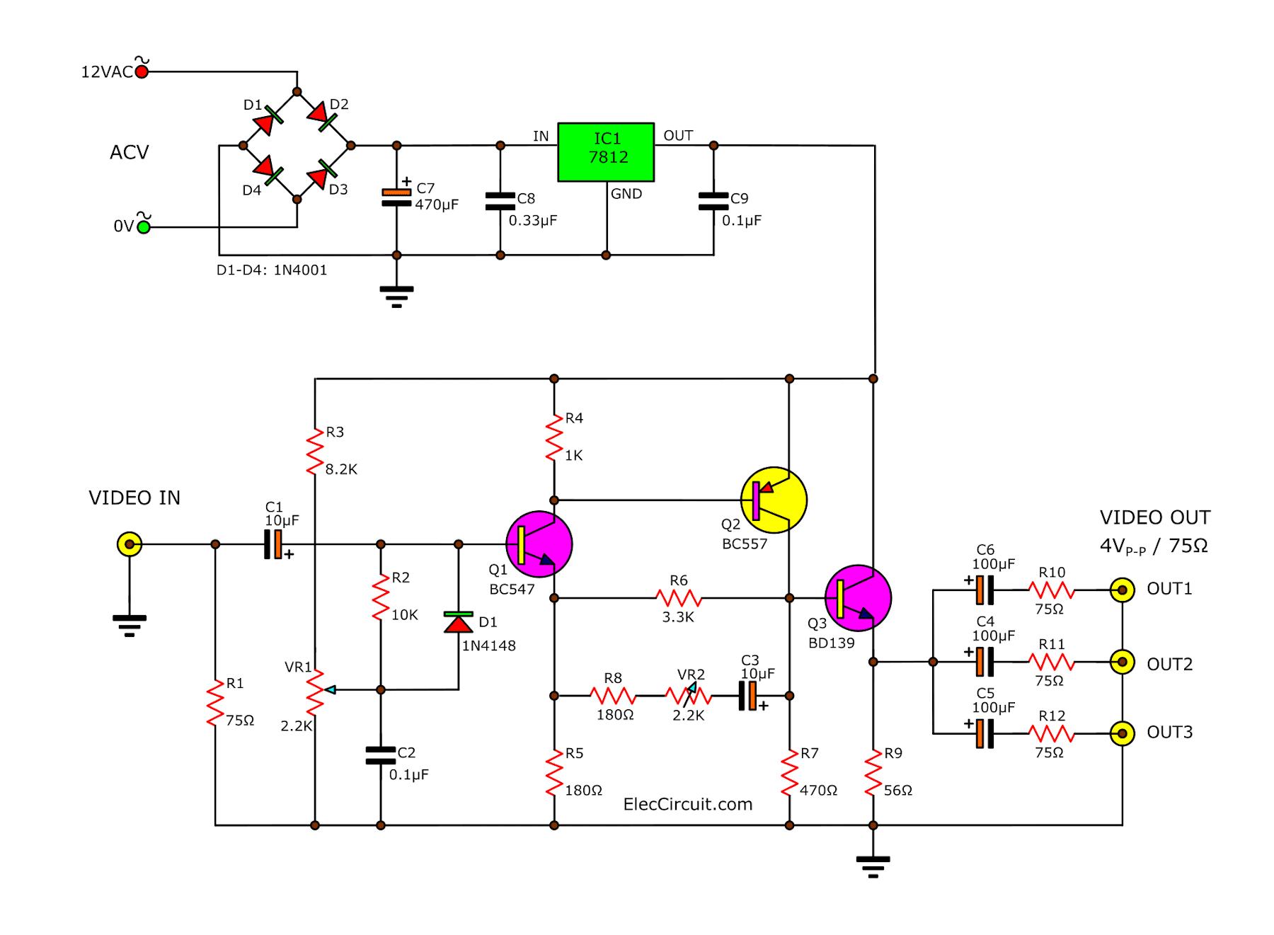 Sakura Amp Circuit - Circuit Diagram Images