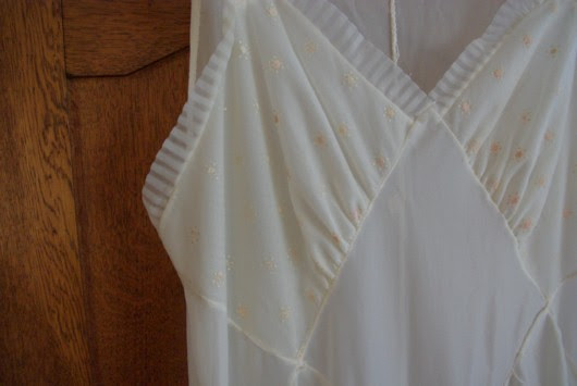 1960s nightgown (detail)
