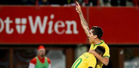 Firmino marcou no segundo tempo do confronto em Londres / Foto: AFP