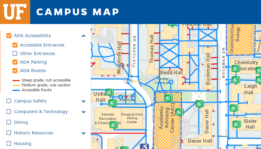 Accessibility At Uf