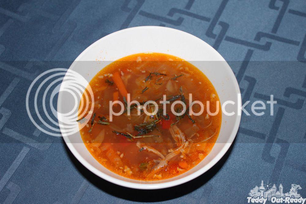 Edible Green Tea Soup